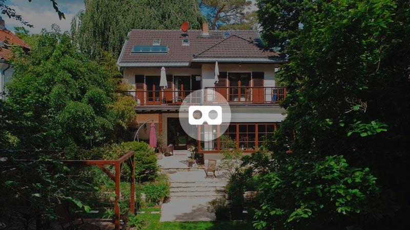 3D-Rundgang Durch Eine Villa (Virtual Reality)